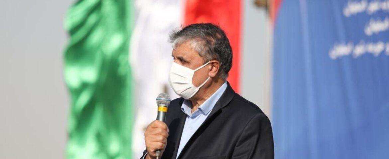 بازدید وزیر راه و شهرسازی از روند اجرای بخشهای باقیمانده آزادراه شرق سپاهان